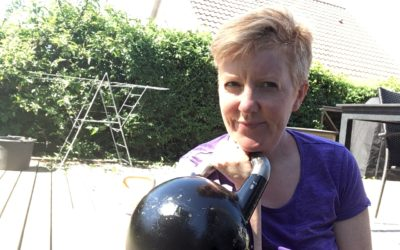 Kettlebell træning med Alphamamafit  – min nye træningslove
