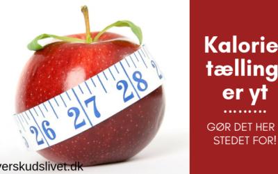 Kalorietælling er yt. Gør det her i stedet for.