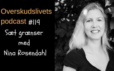 🎧 119. Sæt grænser med Nina Rosendahl